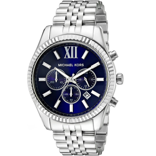 Michael Kors MK8280 Lexington Chronograph Navy Dial Men's Watch