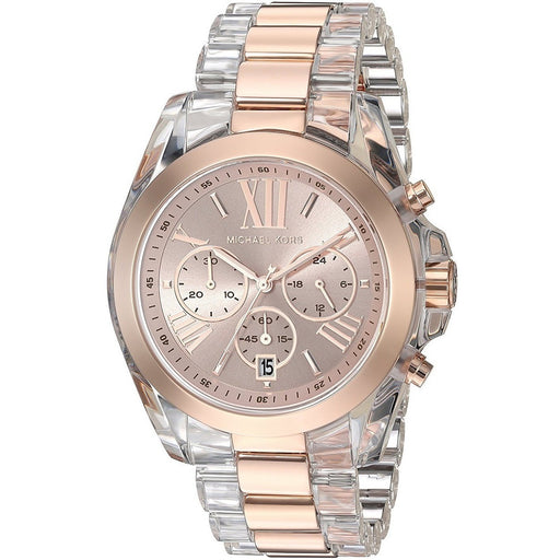 Michael Kors Women's Quartz Watch Rose Gold-Toned MK6358