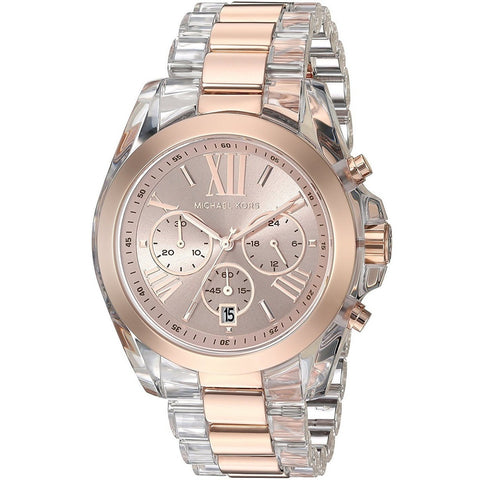 Michael Kors Women's Chronograph Camille Stainless Steel Watch MK5634