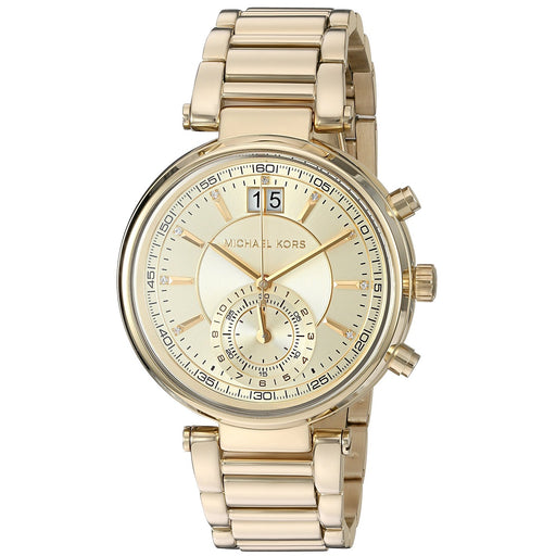 Michael Kors Women's MK6362 Sawyer Gold-Tone Stainless Steel Watch