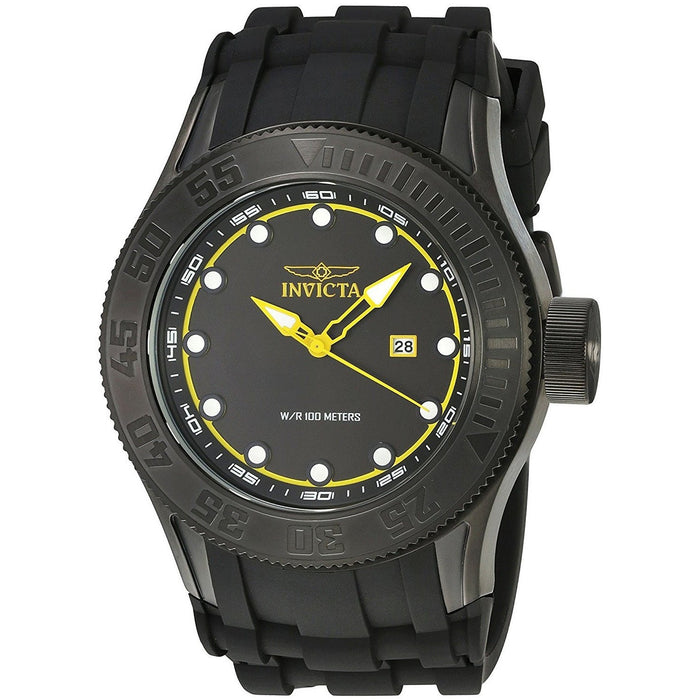 Invicta Men's Pro Diver Quartz Stainless Steel Black 22249