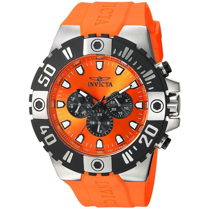 Invicta 23970 Men's Pro Diver Multi-Function Orange Dial Watch