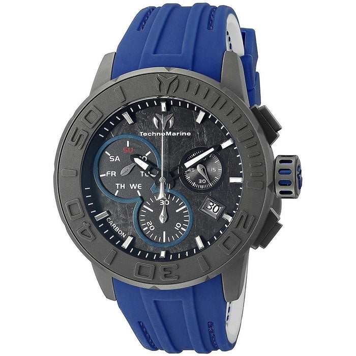 Technomarine Men's Titanium Reef Chronograph Charcoal Dial Watch TM-515003