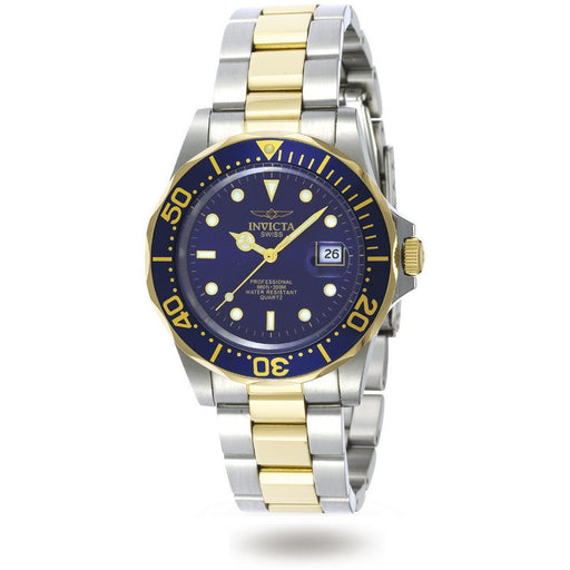 Invicta Men's 9310 Pro Diver Quartz 3 Hand Blue Dial Watch