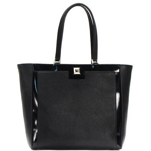 Furla Cortina Women's Tote Bag FRL-bbn3-740727 (Black) - lalamall