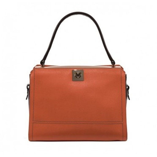Furla Riviera Leather Top Handle Satchel - Multicolor