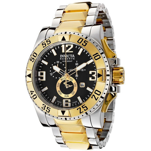 Invicta Men's 15332 Excursion Analog Display Swiss Quartz Two Tone Watch