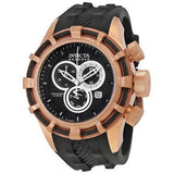 Invicta Men's 15777 Bolt Analog Display Swiss Quartz Black Watch - lalamall