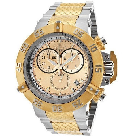 Invicta Men's 18057 Specialty Analog Display Japanese Quartz Two Tone Watch