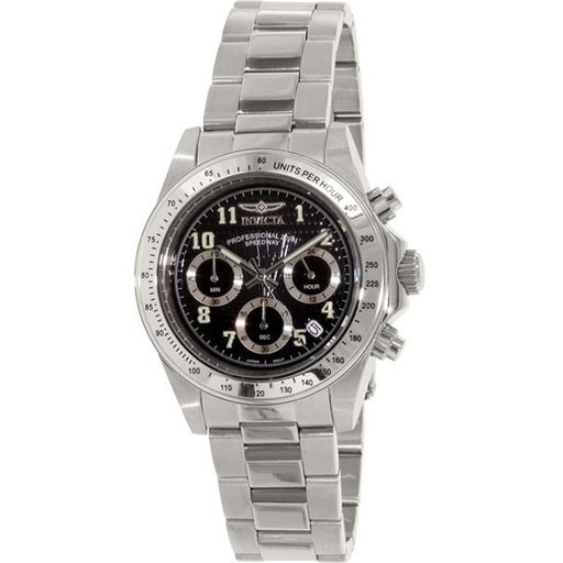 Invicta Men's 17025 Speedway Analog Display Japanese Quartz Silver Watch