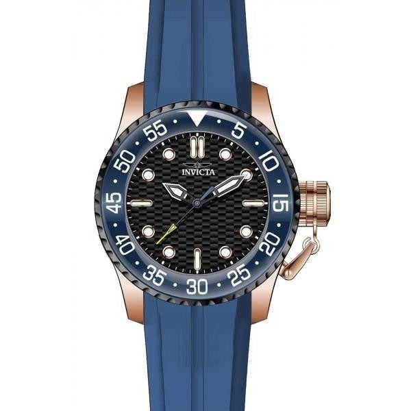 Invicta Men's 17512 Pro Diver Analog Display Japanese Quartz Blue Watch - lalamall