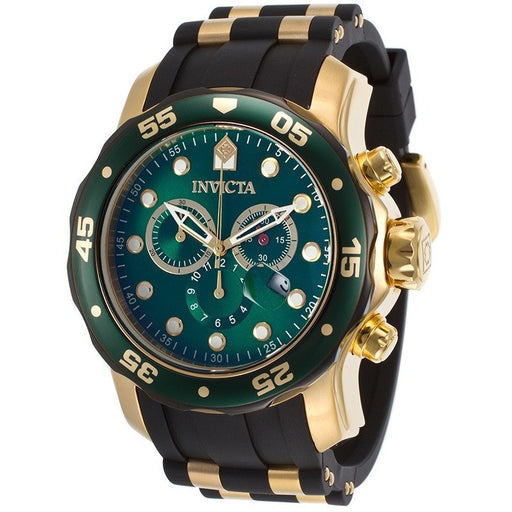 Invicta Men's Pro Diver Analog Display Swiss Quartz Black Watch 17886