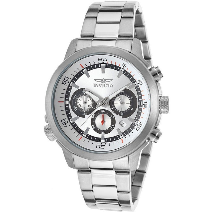Invicta Men's 19239 Specialty Analog-Display Japanese Quartz Silver-Tone Watch