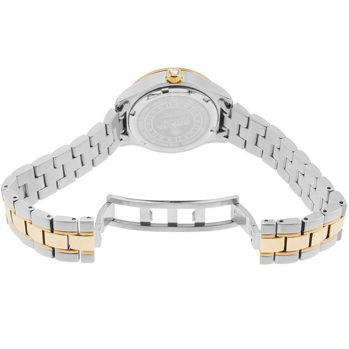 Invicta Women's 21407 Wildflower Stainless Steel and 18K Gold IP Bracelet Watch