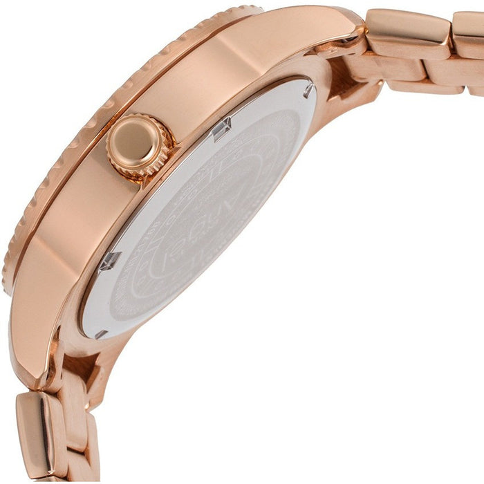 Invicta 21769 Women's 'Angel' Quartz Stainless Steel Rose Gold-Toned Watch