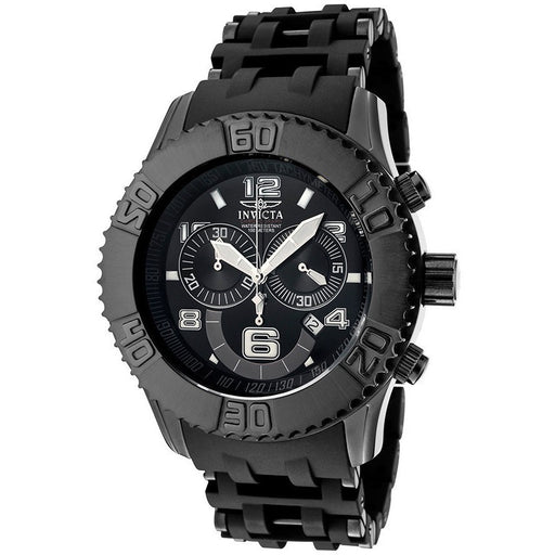 Invicta Men's 6713 Sea Spider Collection Chronograph Black IP Stainless Steel Watch