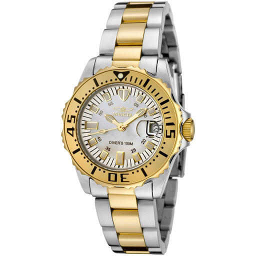 Invicta Women's Pro-Diver Stainless Steel 18k Gold-Plated Bracelet Watch 6895