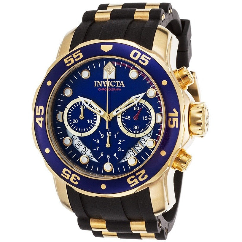 invicta men s pro diver collection chronograph blue dial watch invicta men s pro diver collection chronograph blue dial watch