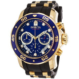 Invicta Men's Pro Diver Collection Chronograph Blue Dial Watch 6983