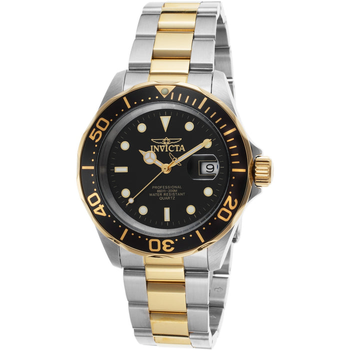 Invicta Men's Pro Diver Two Tone Stainless Steel Watch 9309