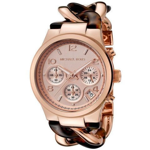 Michael Kors Women's Kempton Brown Watch MK2484