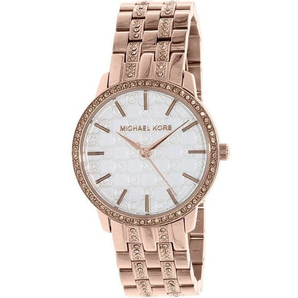 Michael Kors Lady's Nini Rose Gold Steel Bracelet Watch MK3237