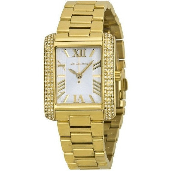 Michael Kors Mini Emery Gold-Tone Stainless Steel Women's watch MK3324