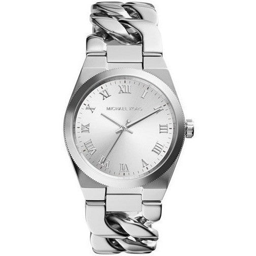 Michael Kors Women's Quartz Stainless Steel Casual Watch Silver-Tone MK3392
