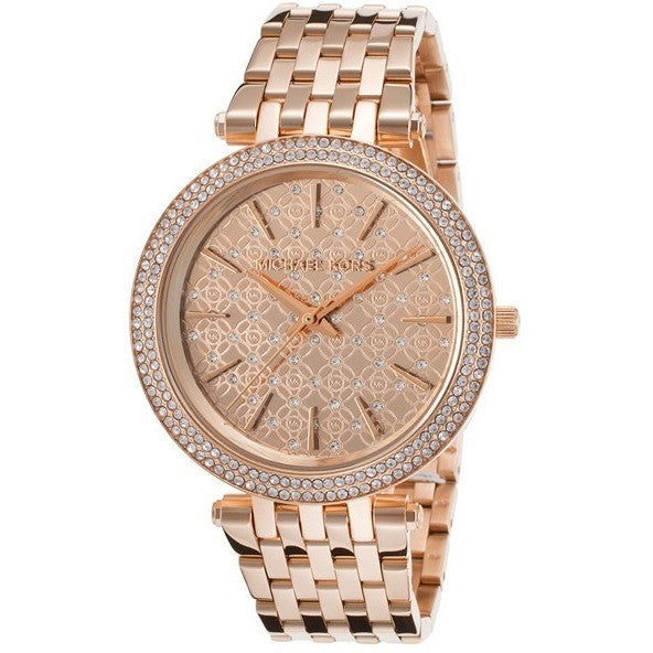 Michael Kors Women's Darci Rose Gold-Tone Watch MK3399
