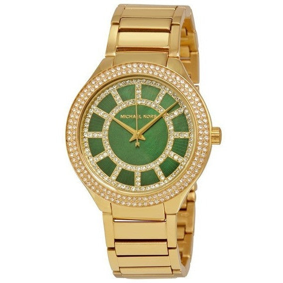 Michael Kors Women's Kerry Gold-Tone Watch MK3409