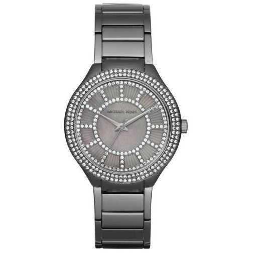 Michael Kors MK3410 Women's Kerry Gunmetal-Tone Stainless Steel Watch