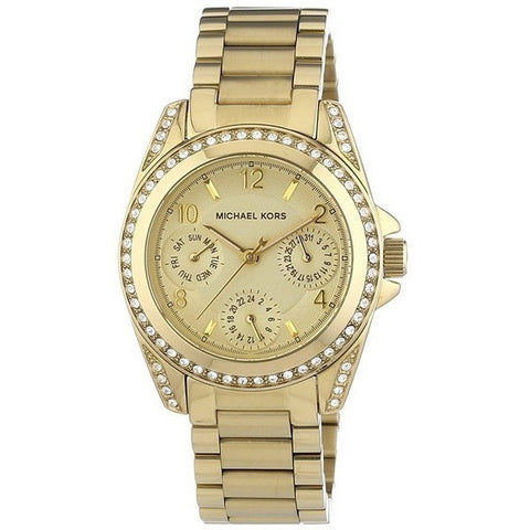 Michael Kors MK5921 Women's Ritz Rose Gold Stainless-Steel Quartz Watch