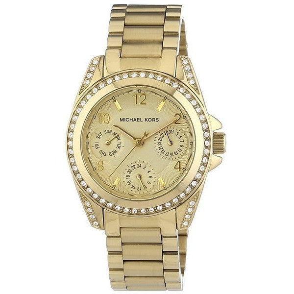 Michael Kors MK5639 Women's Blair Gold-Tone Watch