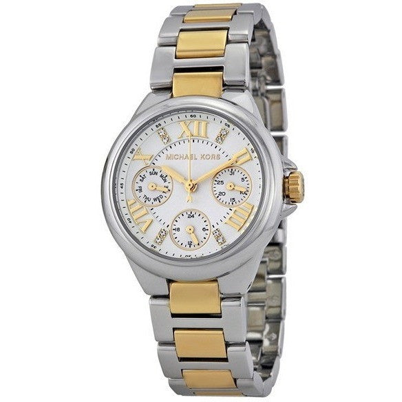 Michael Kors Mini-Size Two-Tone Stainless Steel Camille Multifunction Women's watch #MK5760