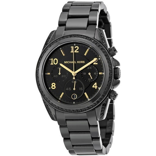 Michael Kors Women's Blair Black Stainless Steel Watch MK6283
