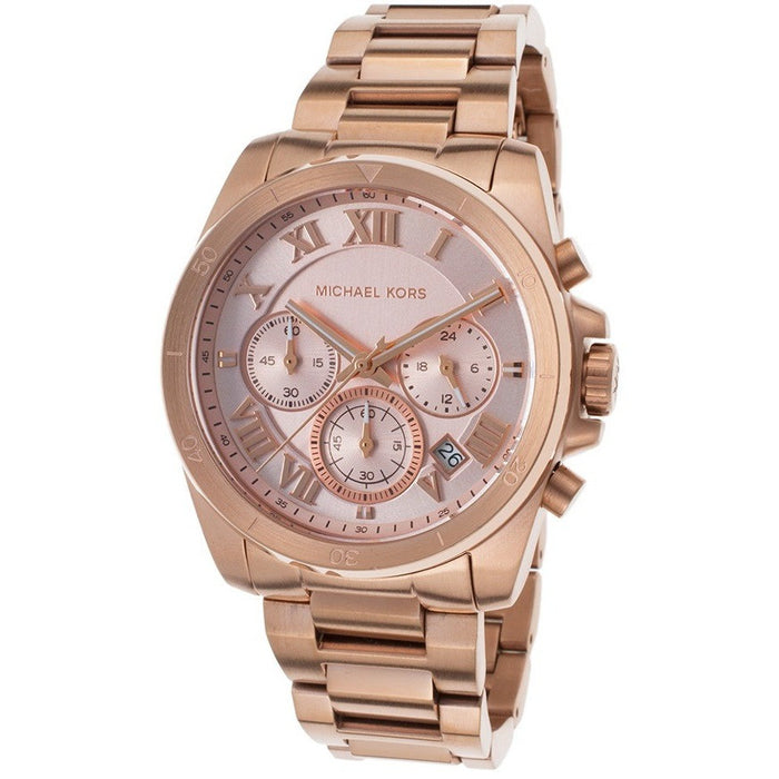Michael Kors Women's Quartz Stainless Steel Rose Gold Watch MK6367