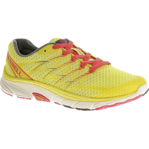 Merrell Womens Bare Access Ultra Trail Running Shoe Yellow/ Geranium