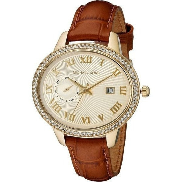 Michael Kors Women's Whitley Brown Watch MK2428