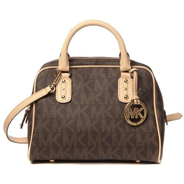 Michael Kors Brown Satchel Bag - lalamall