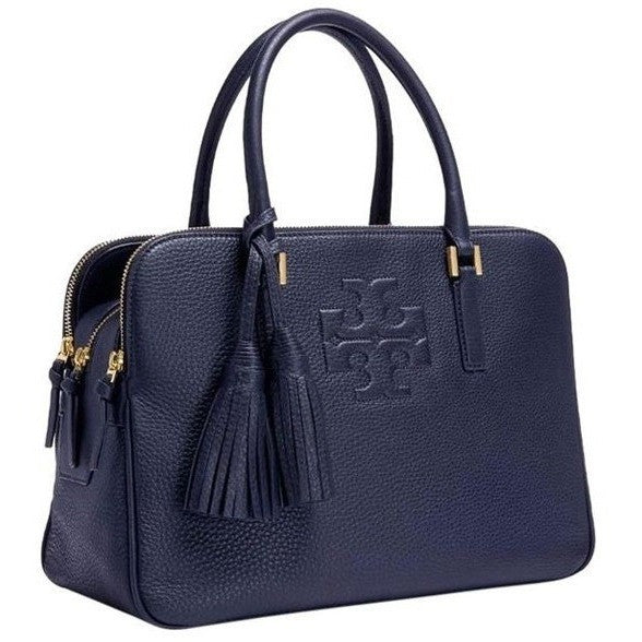 Tory Burch Navy Satchel Bag 18169718