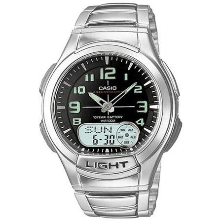 Casio Men's Ana-Digi Light