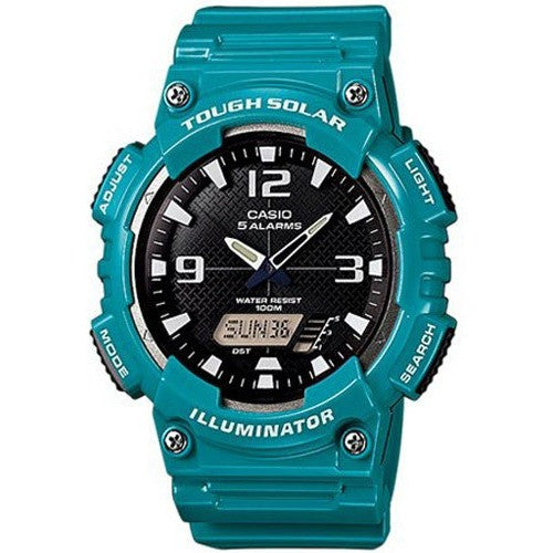 Casio Men's Teal Solar
