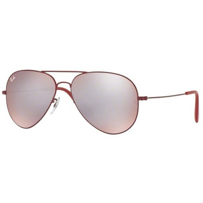 Ray-Ban RB3558 Bordeaux, Pink/Silver Lenses Sunglasses