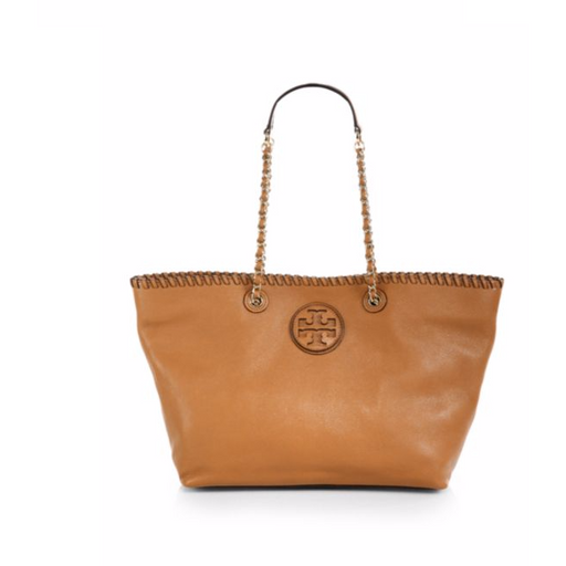 Tory Burch Marion Leather Tote Shoulder Bag