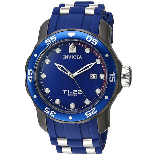 Invicta Men's 'TI-22' Automatic Titanium and Silicone Casual Watch 23558