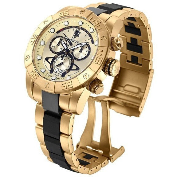 Invicta Men's 'Sea Base' Swiss Quartz Stainless Steel Casual Watch 17965