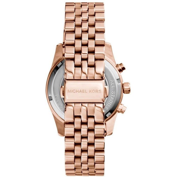 Michael Kors MK5569 Women's Chronograph Rose Gold Tone Dial Rose Gold Tone IP SS