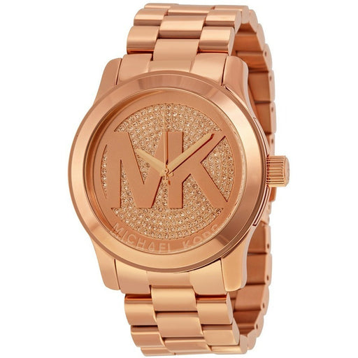 Michael Kors Women's Rose Gold-Tone Quartz Watch MK5661