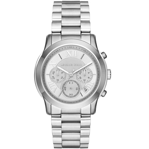 Michael Kors Women's Cooper Silver-Tone Watch MK6273