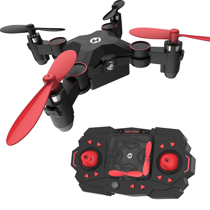 Holy Stone HS 190 Foldable Mini Nano RC Drone for Kids Gift Portable Pocket  Drone with Altitude Hold 3 D Flips and Headless Mode Easy to Fly for Beginners